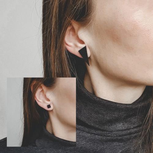 Geometriniai auskarai ▪ S_J ▪